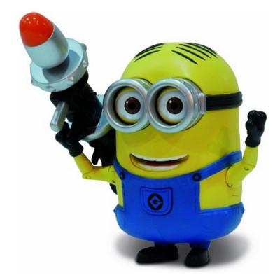 Mtw Toys figurine de luxe moi, moche et méchant 2 : dave et son lance-Roquettes
