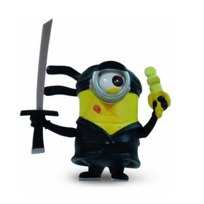 Mtw Toys figurine moi, moche et méchant 2 - 5 cm : minion ninja