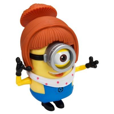 Mtw Toys figurine de luxe moi, moche et méchant 2 : lucy/pompier