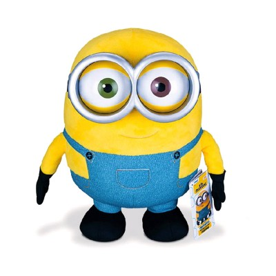 Mtw Toys peluche à fonction minion : jumbo talking bob