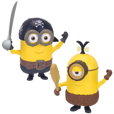 Mtw Toys figurine de luxe minions : build-A-minion pirate/cro-minion