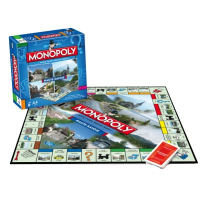 Winning Moves Monopoly Haute-Savoie