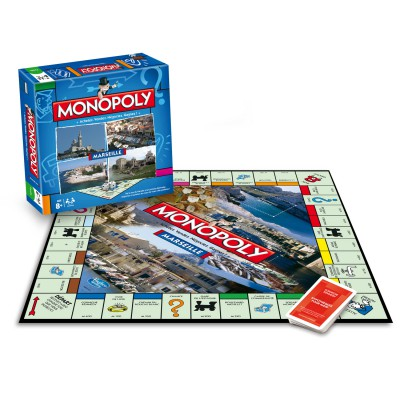 Winning Moves Monopoly Marseille