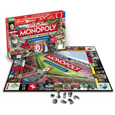 Winning Moves Monopoly LOSC : Edition des Légendes