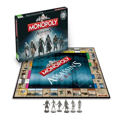 Winning Moves Monopoly Assasins Creed