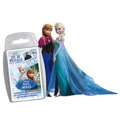 Winning Moves Jeu de cartes bataille : La Reine des Neiges - Frozen