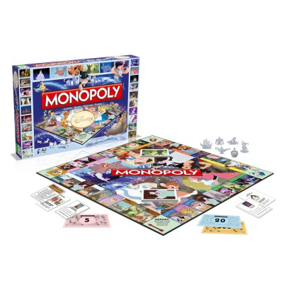 Winning Moves Monopoly Disney