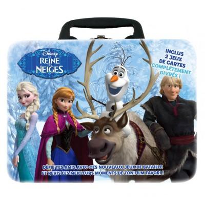 Winning Moves Valise Collector 2 jeux de bataille La reine des Neiges (Frozen). Valise Collector 2 jeux de bataille La reine des Neiges (Frozen)