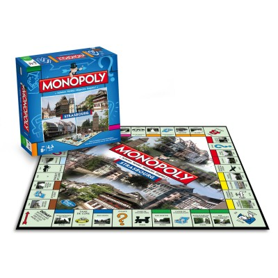 Winning Moves Monopoly Strasbourg : Edition 2015