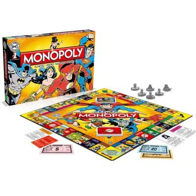 Winning Moves Monopoly DC Comics