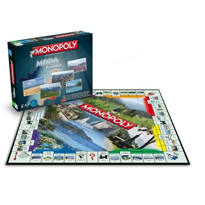 Winning Moves Méga Monopoly France