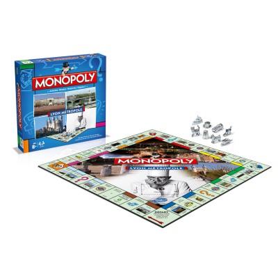 Winning Moves Monopoly Lyon Métropole édition 2015