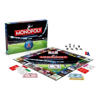 Winning Moves Monopoly édition Paris Saint-Germain (PSG)