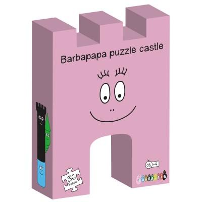 Barbo Toys puzzle 36 pièces : château barbapapa