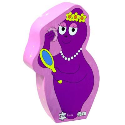 Barbo Toys puzzle 36 pièces - barbapapa : miroir de barbabelle
