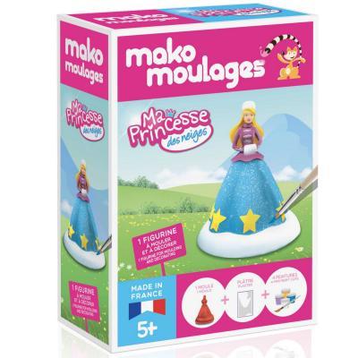 Mako Creations moulage en plâtre mako moulages : ma princesse des neiges