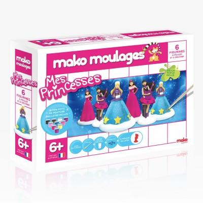 Mako Creations moulage en plâtre mako moulages : mes princesses