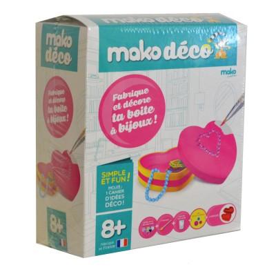 Mako Creations moulage en plâtre mako déco : fabrique et décore ta boite à bijoux