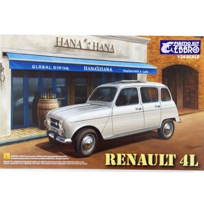 Ebbro Maquette voiture : renault 4l