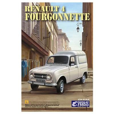 Ebbro Maquette voiture : renault 4 fourgonnette