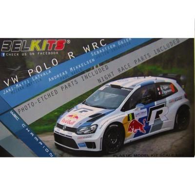 Ebbro Maquette voiture : volkswagen polo r wrc 2013