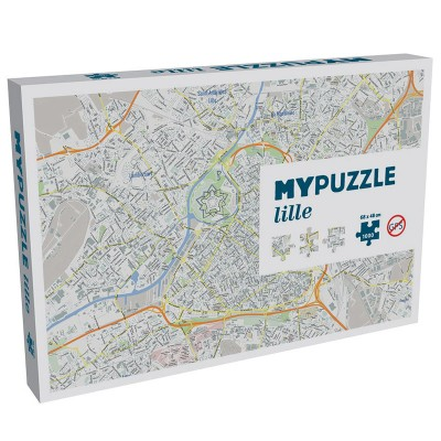 Helvetiq Puzzle 1000 pièces : my puzzle lille
