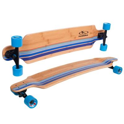 Hudora Skateboard : Longboard Black's Beach