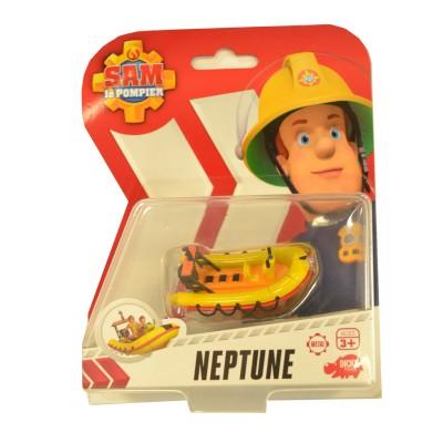 Dickie Toys véhicule de secours sam le pompier : bateau neptune