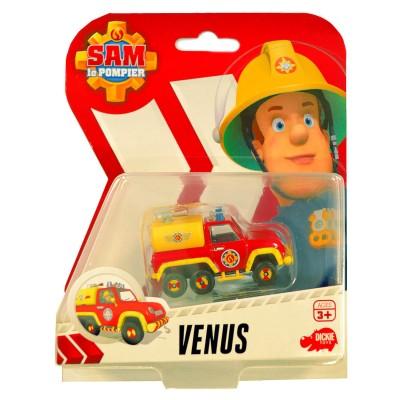 Dickie Toys véhicule de secours sam le pompier : camionnette venus