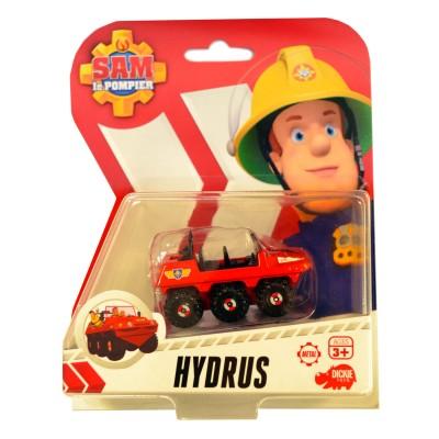 Dickie Toys véhicule de secours sam le pompier : véhicule amphibie hydrus