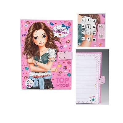 journal secret avec code top model kontiki magasin de jouets pour enfants. Black Bedroom Furniture Sets. Home Design Ideas