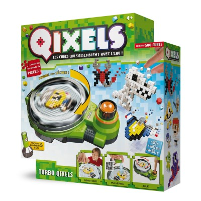 Kanai Kids Coffret de création Qixels : Turbo Qixels