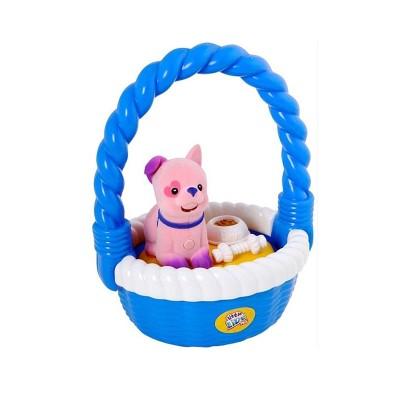Kanai Kids Chiot interactif et son panier Little Live Pets : Belle