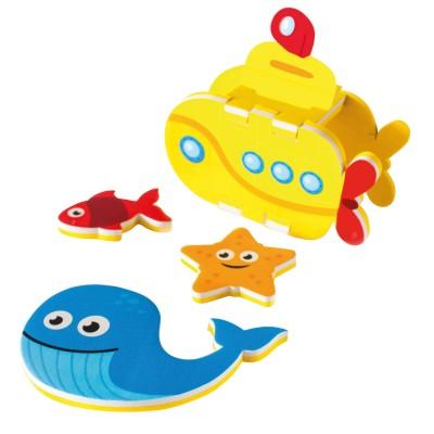 Meadow Kids autocollants pour le bain : sous-Marin
