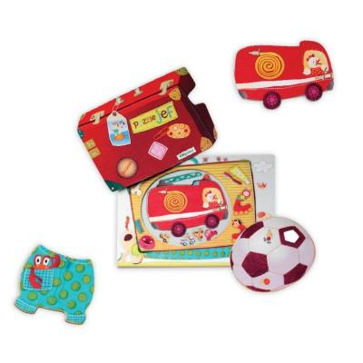 puzzle 224 encastrer jef le chien lilliputiens magasin de jouets pour enfants