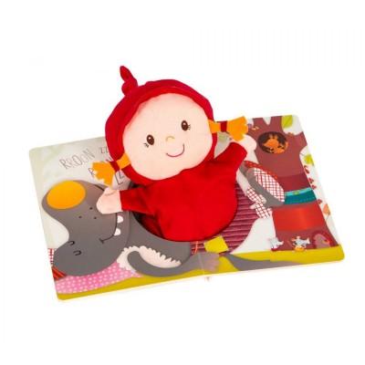 Lilliputiens Livre ohey granny avec marionnette chaperon rouge