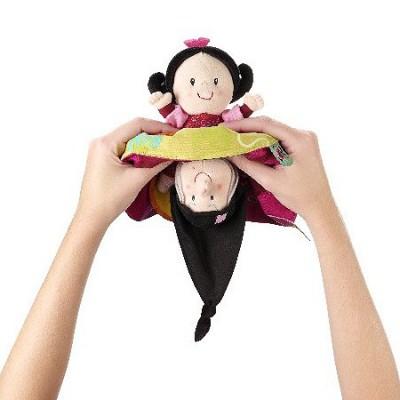 Lilliputiens Marionnette réversible Blanche Neige