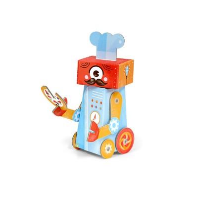 Krooom Jouet à plier : fold my robot! : robot cuisinier