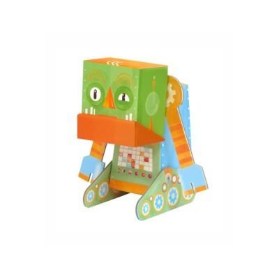 Krooom Jouet à plier : fold my robot! : robot grincheux