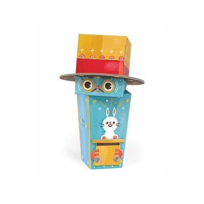 Krooom Jouet à plier : fold my robot! : robot magicien