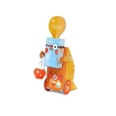 Krooom Jouet à plier : fold my robot! : robot scientifique