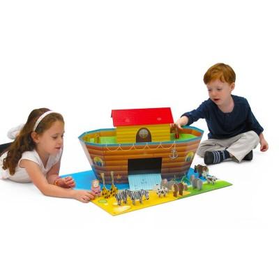 Krooom Ensemble de jeu à assembler : arche de noé
