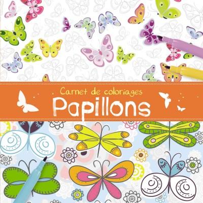 1.2.3. Soleil ! carnet de coloriages : papillons