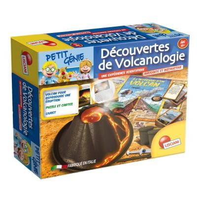 Lisciani Giochi Coffret petit génie : Découvertes de volcanologie