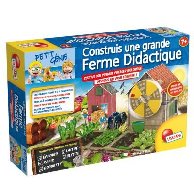 Lisciani Giochi Coffret petit génie : Construis une grande ferme didactique