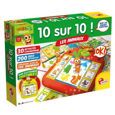 Lisciani Giochi carotina preschool : 10 sur 10 les animaux