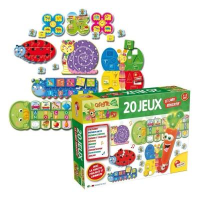 Lisciani Giochi Labo éducatif 20 jeux : Carotte magique