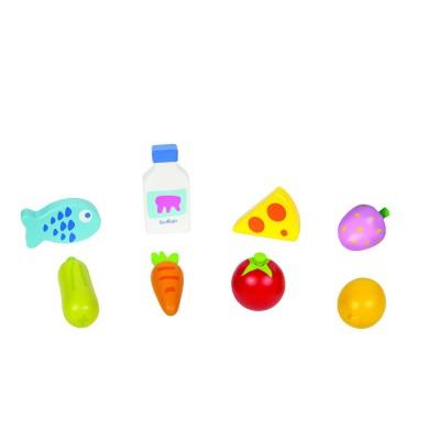 Boikido Set aliments pour marchande
