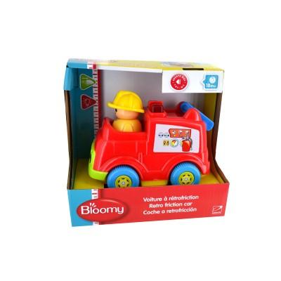 Bloomy Voiture rétro-Friction : pompier