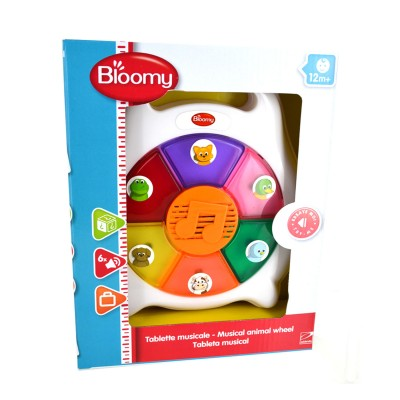 Bloomy Tablette musicale des animaux